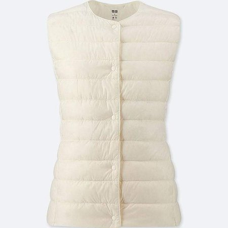 Women's Ultra Light Down Puffer Compact Vest