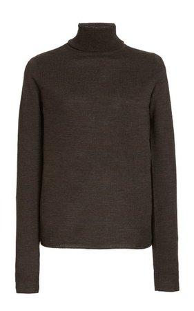 Merino Wool Turtleneck Sweater By Toteme | Moda Operandi