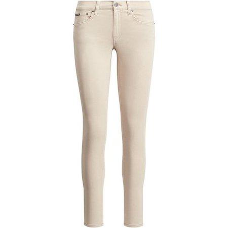 Beige Skinny jeans