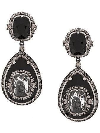 Alexander McQueen Gemstone Pendant Earrings