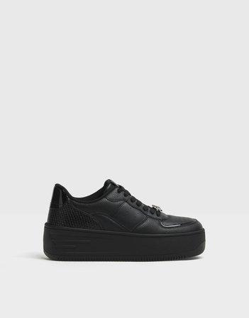 Bejeweled platform sneakers - NEW - Woman | Bershka
