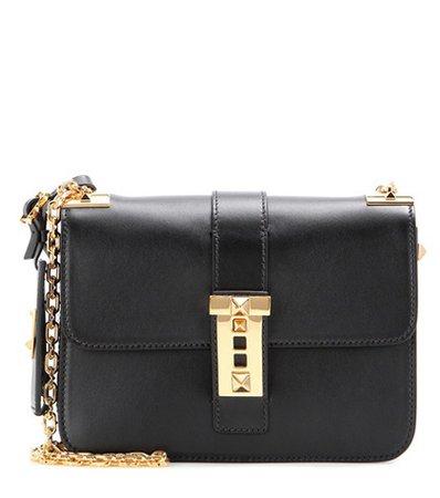B-Rockstud leather shoulder bag