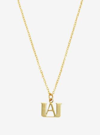 My Hero Academia UA Logo Dainty Necklace