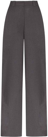 Eftychia high-waisted trousers