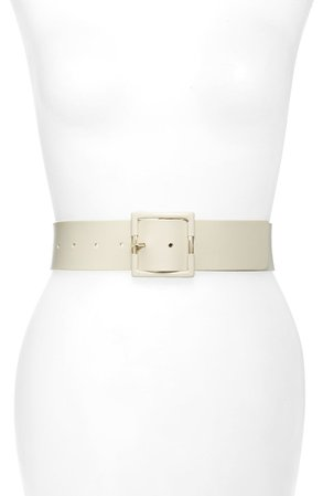 Halogen® Wide Leather Belt | Nordstrom