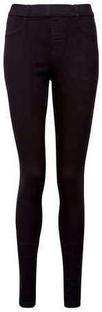 **Tall Black 'Eden' Denim Jeggings