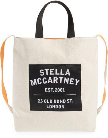 Medium Salt & Pepper Canvas Tote Bag