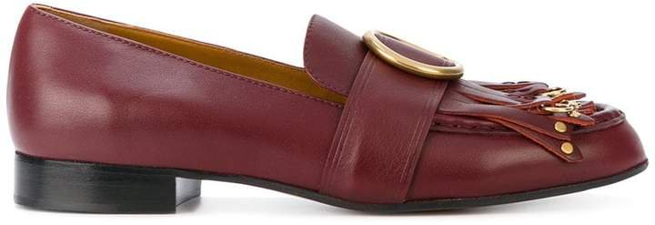 Olly fringed loafers