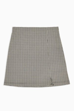 Mini Check Stretch Skirt | Topshop