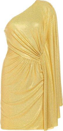 Alexandre Vauthier Micro Crystal Mini Dress
