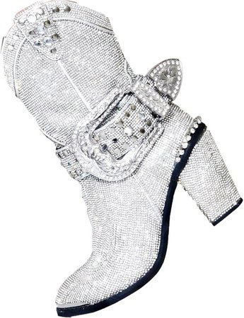 Icy Sheriee Shime Cowboy Boots