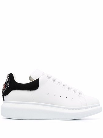 Alexander McQueen Oversized Sole Embellished Sneakers - Farfetch
