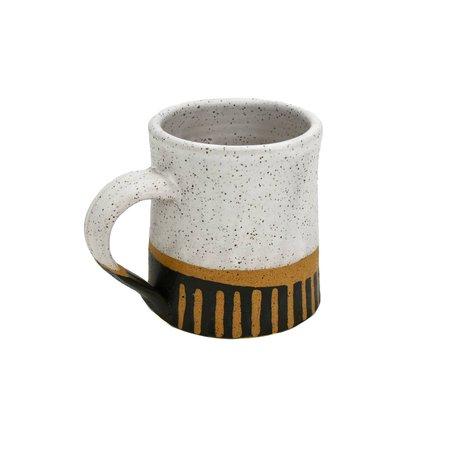 Black Marfa Coffee Mug | Natan Moss Ceramics | Wolf & Badger