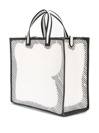 Fendi Leather Tote Bag - Farfetch