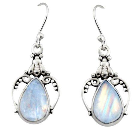 moonstone gemini earrings - Google Search