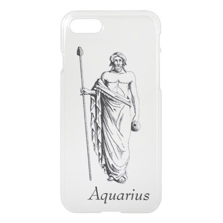 Aquarius iPhone 7 Case | Zazzle.com