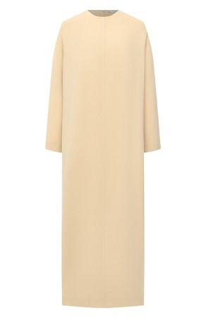 Женское бежевое платье THE ROW — купить за 183000 руб. в интернет-магазине ЦУМ, арт. 5470W1968