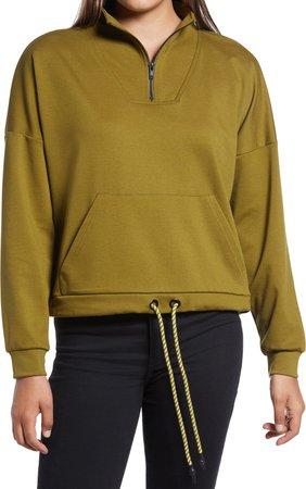 Charlie Quarter Zip Sweatshirt