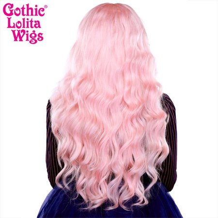 Gothic Lolita Wigs® Classic Wavy Lolita™ Collection - Pink Blonde – Dolluxe®