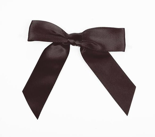 Pre-tied Organza Bows Expresso, Ribbon, Packaging and Accessories