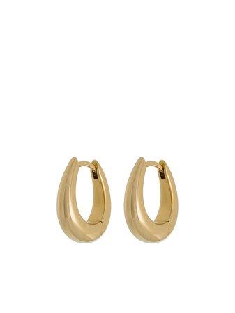 Tom Wood Liz hoop earrings - FARFETCH