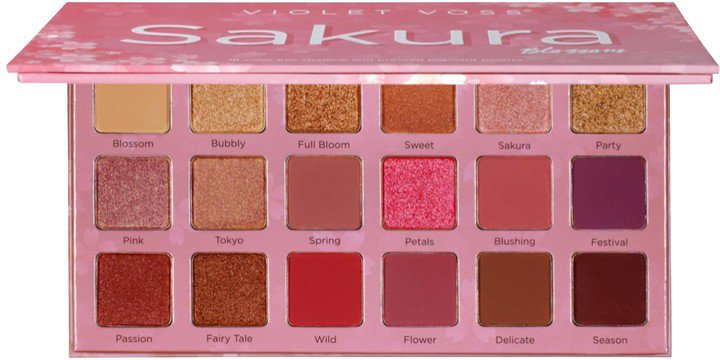 Sakura Blossom Eyeshadow and Pressed Pigment Palette