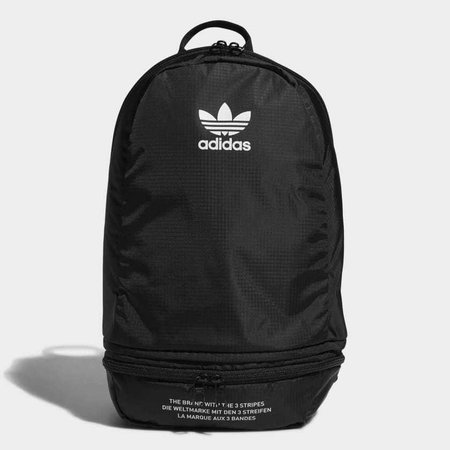 adidas Packable Two-Way Backpack - Black | adidas US