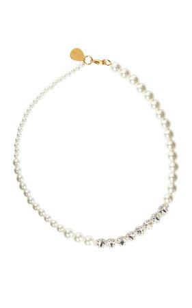 Pearl & Crystal Necklace By Simone Rocha | Moda Operandi