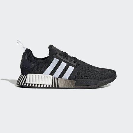 Men's NMD R1 Core Black and White Shoes | adidas US