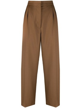 Shop Marni tailored wide-leg trousers with Express Delivery - FARFETCH