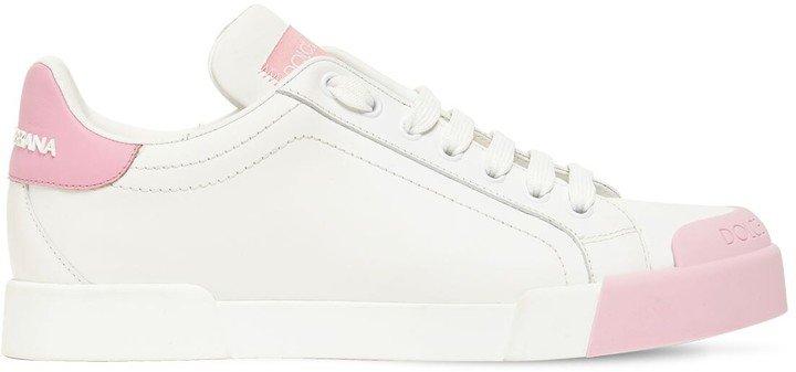 20mm Portofino Leather Sneakers