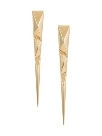 THIRD CROWN Prizm Spike Earrings - Farfetch