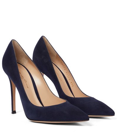 Gianvito Rossi - Pumps in suede | Mytheresa
