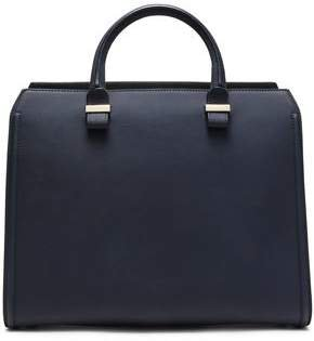 Victoria Textured-leather Tote
