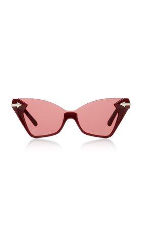 Karen Walker Sweet Cat Cat-Eye Sunglasses