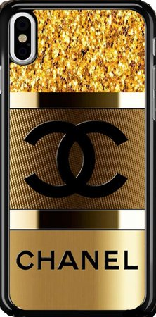 Gold and Black Chanel iPhone 11