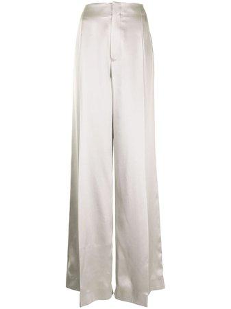 Ralph Lauren Collection high-rise Wide Leg Trousers - Farfetch