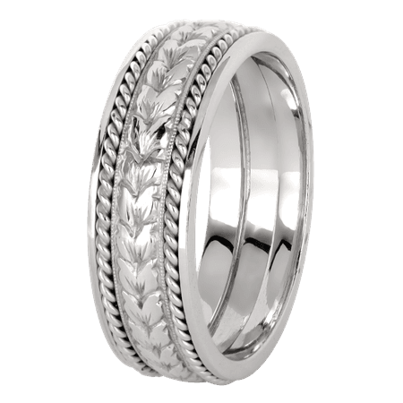 KPRB 5657M – Platinum Men's Band | Jack Kelége Designer Diamond Engagement Rings, Unique Engagement Rings, Wedding Bands, Colored Diamonds and Fine Jewelry