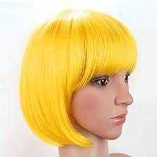yellow wig - Google Search