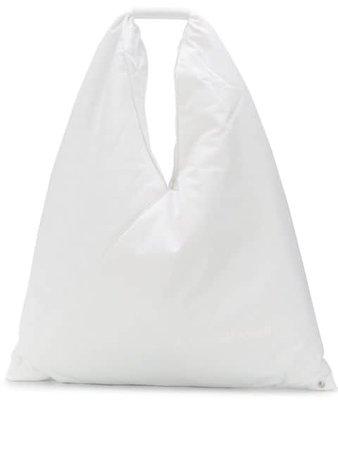Mm6 Maison Margiela Japanese Tote Bag S54WD0039P2869 White | Farfetch