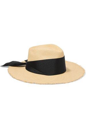 Sensi Studio | Grosgrain-trimmed toquilla straw Panama hat | NET-A-PORTER.COM