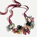 J.Crew: Mixed-medium Statement Necklace For Women
