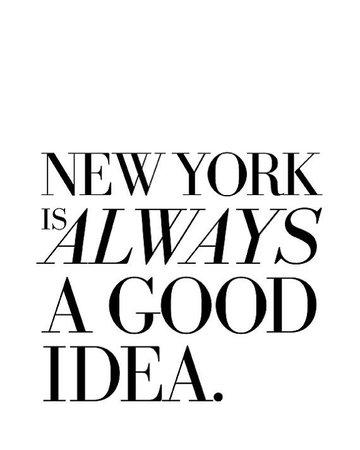 New York Quote