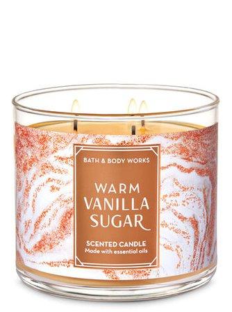 Warm Vanilla Sugar 3-Wick Candle | Bath & Body Works