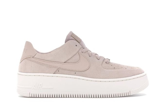 purple beige sneaker Air Force 1 one