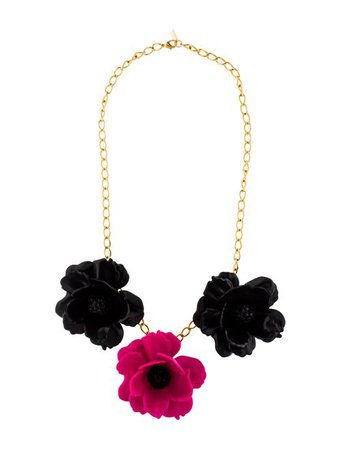 Kate Spade New York Flower Necklace - Necklaces - WKA110109 | The RealReal