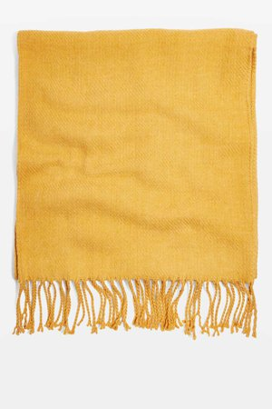 Supersoft Scarf topshop yellow