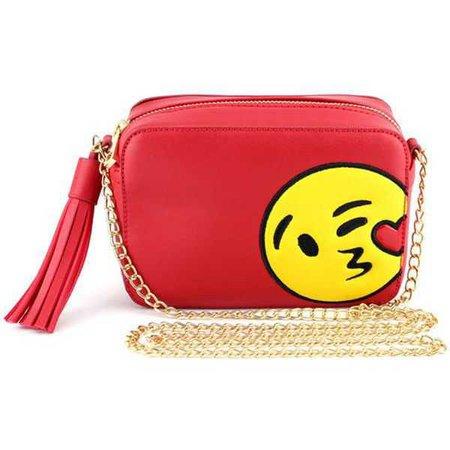 red emoji purse - Google Search