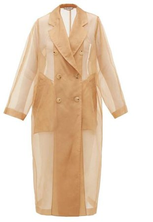 Materia Trench Coat - Womens - Camel