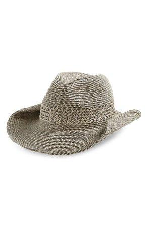 Treasure & Bond Marled Straw Cowboy Hat | Nordstrom